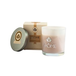 Arome Vonná svíčka s víčkem Sandalwood and Rose, 200 g