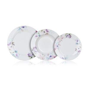 Banquet 18dílná jídelní sada Pink Flowers