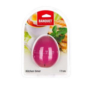 Banquet Minutka kuchyňská Culinaria Vajíčko, růžová