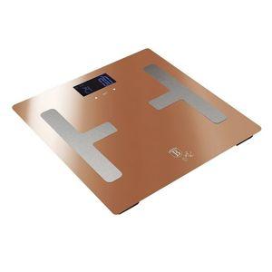 Berlinger Haus Osobní váha Smart s tělesnou analýzou Rosegold Metallic Line