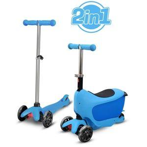 Buddy Toys BPC 4310 Koloběžka Taman 2v1, modrá