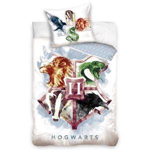 Dětské bavlněné povlečení Harry Potter Hogwarts Erb, 140 x 200 cm, 70 x 90 cm