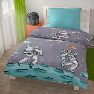 Dětské bavlněné povlečení SPACE, 140 x 200 cm, 70 x 90 cm