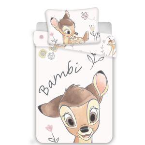 Dětské bavlněné povlečení do postýlky Bambi , 100 x 130 cm, 40 x 60 cm
