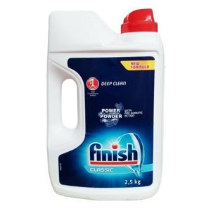Finish Power Powder Classic prášek do myčky 2,5 kg