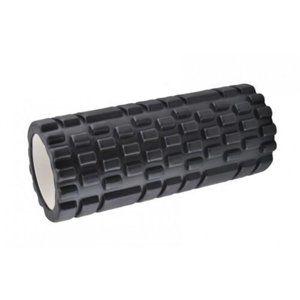 Fitness masážní válec černá, 34 x 14 cm