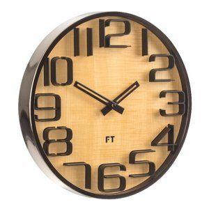 Future Time FT7010TT Numbers Designové nástěnné hodiny, pr. 30 cm