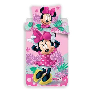 Jerry Fabrics Dětské povlečení Minnie Tropic micro, 140 x 200 cm, 70 x 90 cm