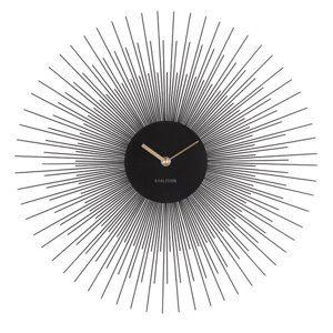 Karlsson 5817BK Designové nástěnné hodiny pr. 45 cm