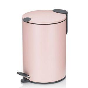 Kela Kosmetický odpadkový koš MATS 3 l, růžová