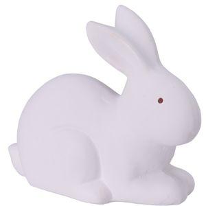 Keramický zajíček Doodle bílá, 16 cm