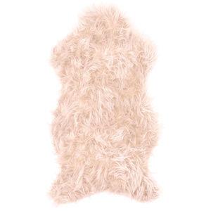 Koopman Kožešina světle růžová, 50 x 90 cm