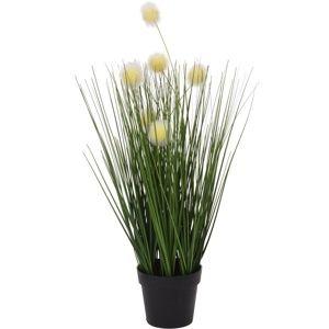 Umělá kvetoucí tráva Eleonore, 46 cm