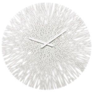 Koziol Nástěnné hodiny Silk bílá, pr. 45 cm