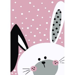 Kusový dětský koberec Kiddo 0131 pink