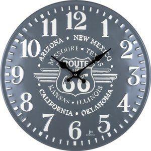 Lowell 21507 Designové nástěnné hodiny pr. 40 cm