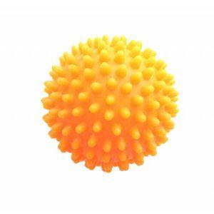 Masážní míček Ježek oranžová, pr. 7 cm