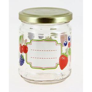Mäser Sada zavařovacích sklenic Ovoce 200 ml, 6 ks