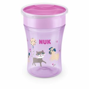 NUK hrnek Magic Cup s víčkem, 230 ml