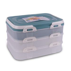 Orion Přenosný box na potraviny 3 patra