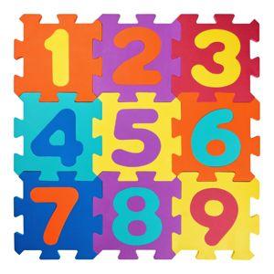 Plastica Pěnové puzzle Čísla, 23 dílů