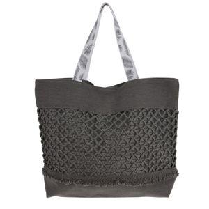 Plážová taška Croche, šedá