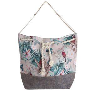 Plážová taška Jungle, bílá