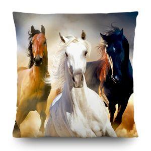 Polštářek Horses, 45 x 45 cm