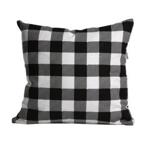 """Povlak na polštářek """"Love in Checkered"""", 40 x 40 cm"""
