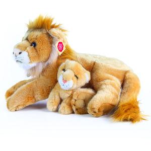 Rappa Plyšový lev s mládětem, 40 cm