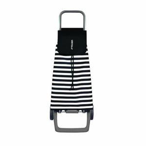 Rolser Nákupní taška na kolečkách Jet Marina Joy, černo-bílá
