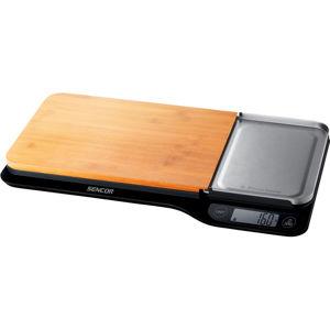 Sencor SKS 6700BK kuchyňská váha XL, bambus