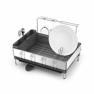 Simplehuman Odkapávač na nádobí, nerez