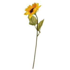 Umělá květina Slunečnice žlutá, 68 cm