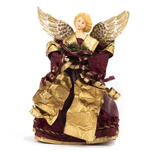 Vánoční krepový anděl, 30 cm